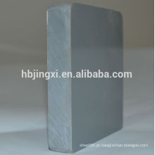 Placa rígida de plástico de PVC com resistência química