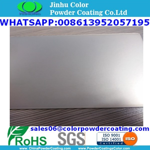 Glans zilver Metallic Effect poeder Coating