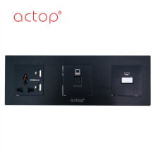 ACTOP tempered glass switch panel