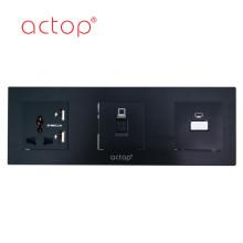 Painel de controle de vidro temperado ACTOP
