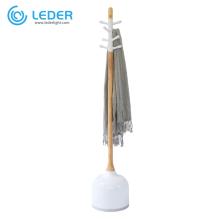 LEDER Led Wooden Reading Floor Lamp