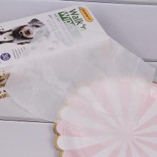 Petites lingettes de toilettage pour animaux de compagnie disponibles sur mesure