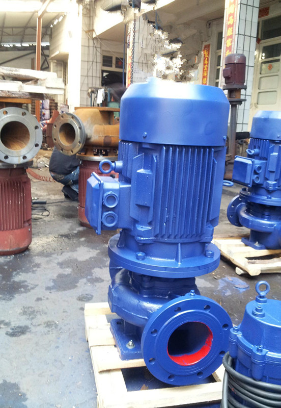 GW type pipeline sewage pump explosion proof pipeline type non blocking sewage pump 7 8