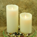 Finition lisse pilier Luminara Unscented Flameless Candle