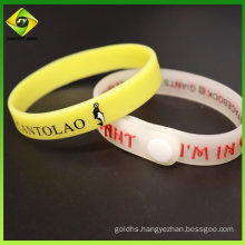 Style Promotional Gifts Thin Wristband Bulk Cheap Silicone Wristbands