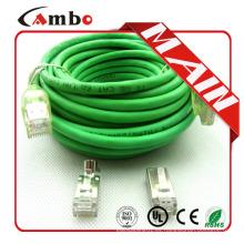 Alta calidad 4 pares varados 24awg cable de cobre del Internet 10m