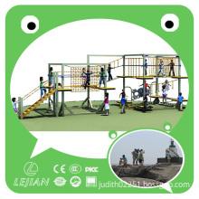 2015 High Quality Plastic Children's Climbing Playground