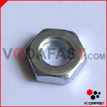 Uni 5589 Hex Thin Nuts Zinc plateado