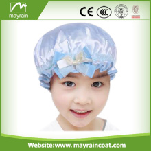 2018 Cute PEVA Shower Cap per bambini