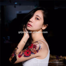 Venta caliente pegatinas de tatuaje personalizado con alta calidad