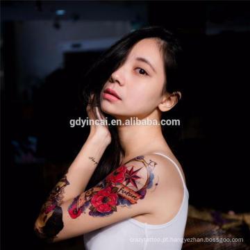 Venda quente personalizado tatuagem adesivos com alta qualidade