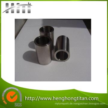 Nahtloses reines Titan ASTM B338 Titanrohr