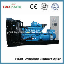 Generator Manufacturer! 880kw/1100kVA Open Diesel Engine Power Electric Generator Diesel Generating Power Generation