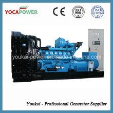 Производитель генераторов! 880 кВт / 1100 кВА Открытый дизельный двигатель Электрогенератор Дизель-генераторная электростанция