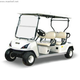 4 seat electric golf cart DG-C4 with CE certificate China trader