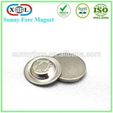 bouton magnétique ronde badges aimant