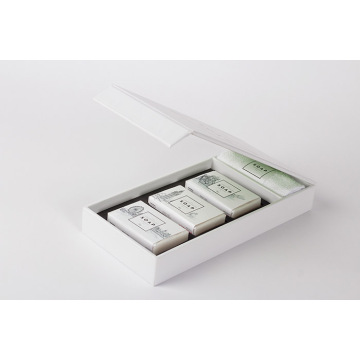 Hotel Soap Magnet Closure Book-shaped Rigid Gift Box