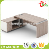 Best price customized good quality easy knock down modern boss office table foshan office fruniture