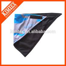 Bandana impresa única del paño grueso y suave del triángulo de la marca de fábrica de la manera