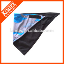 Fashion brand unique printed triangle fleece bandana
