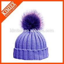 Bonnet en tricot fait à l'anglaise en acrylique
