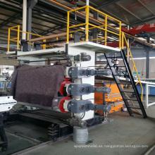 Extrusión de láminas de mármol de PVC que hace la máquina-máquina Suke