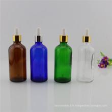 Bouteille d'huile essentielle de 30ml / 50ml / 100ml pour le liquide (EOB-04)