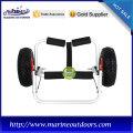 Carretilla de kayak al aire libre ligera de aluminio