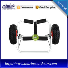 Aluminum light weight outdoor kayak trolley