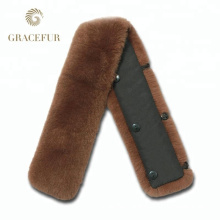 Best quality real fur collar accessorize