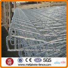 ISO9001 BRC Valla superior soldada con rodillo, Valla superior galvanizada en caliente