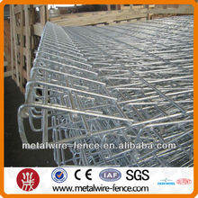 ISO9001 BRC Roll top welded fence, Hot-dipped Galvanized Roll Top Fence