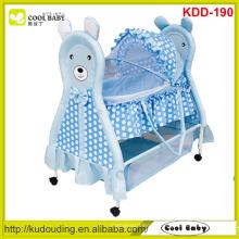 NEU Design Baby Möbel Baby Bassinet Kann bu als Tragebett in getrennten Zustand Baby Swing Bassinet verwendet werden