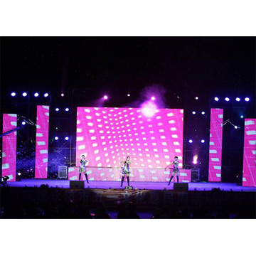 Lichtgewicht Cabinet Stage Rental LED Display