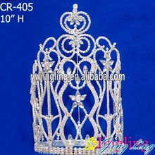large rhinestones Wedding and Party Tiara and Crown