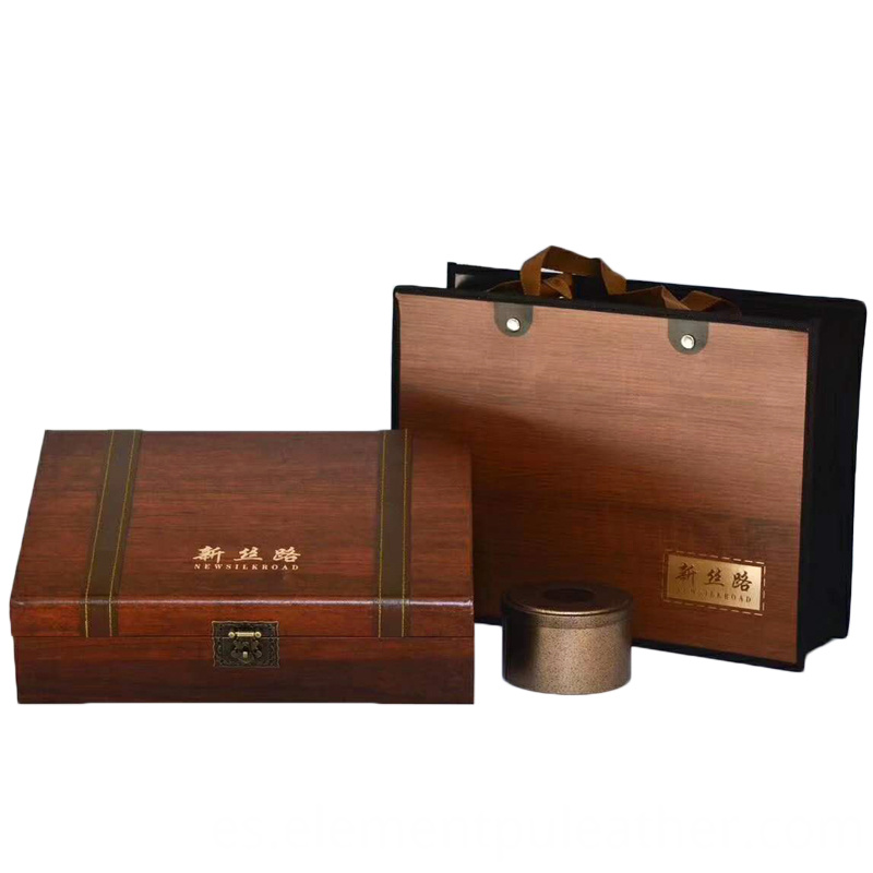 Tea Box Wooden Paper