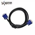 SIPU precio de fábrica al por mayor de audio o computadora cable vga para monitor video cables vga cable 3 + 5