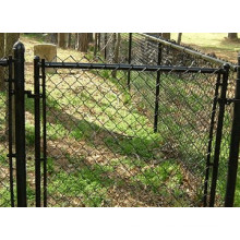 Style américain Galvanisé Chain Link Fence / PVC Coated Chain Link Fence Price