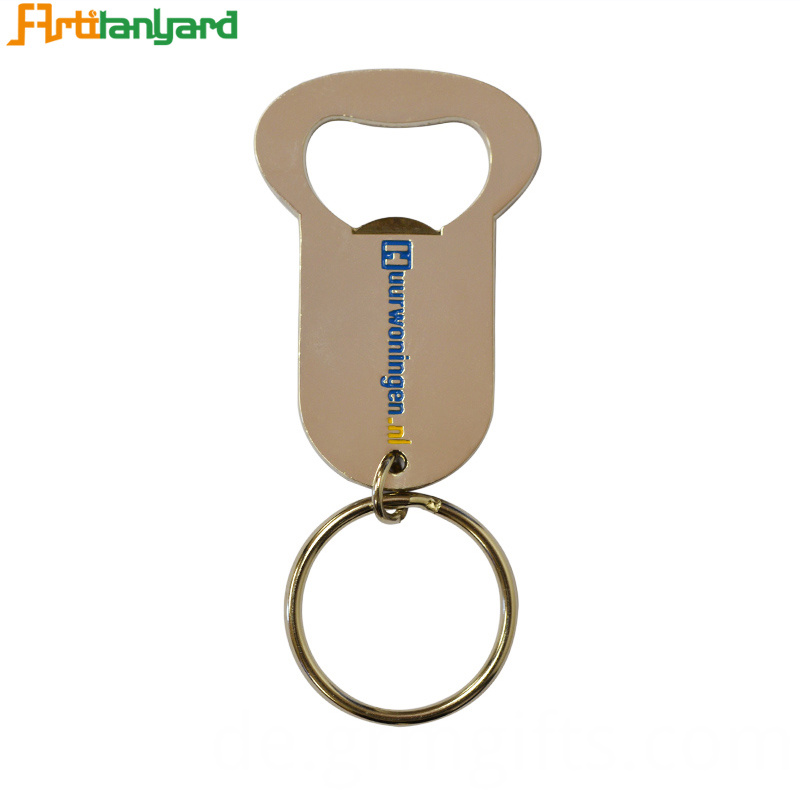 Custom Bottle Opener Keychain