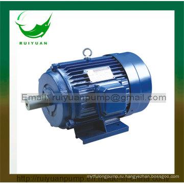 Y Серия 750 Вт 1 л. с. медного провода трехфазный асинхронный Электродвигатель