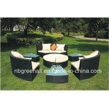 Плетеные диваны для наружного использования в качестве кровати / дивана