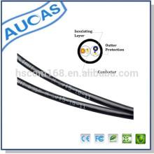 Cable de teléfono del cable de la gota del proveedor de la fábrica código de color cable de teléfono de 2 pares precio caliente de 0.5mm