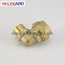 Brass PE Fitting with Male Thread Elbow