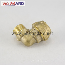 Male Elbow Thread Brass PE Fitting