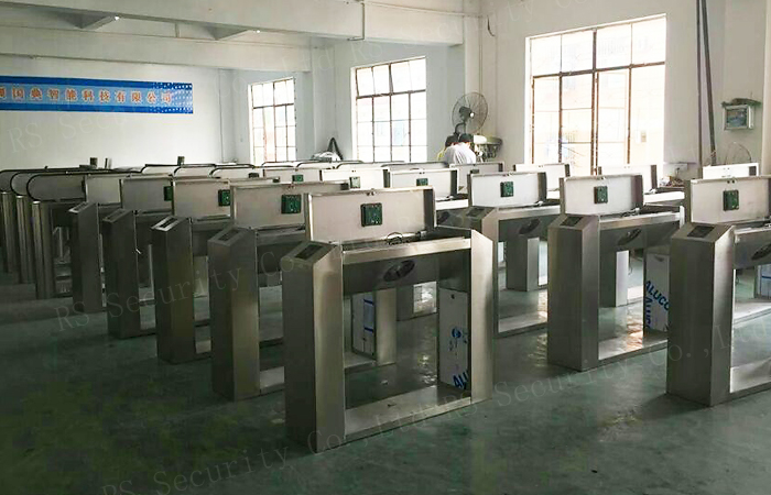Fingerprint Reader Turnstiles