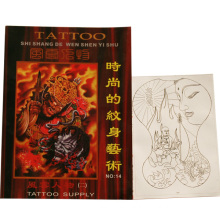 Professional fashion tattoo book for beauty art