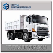 350HP 45t 6X4 Hino 700 Camión volquete pesado