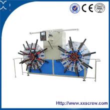Máquina de bobinado de la estación doble del tubo del PVC del PE