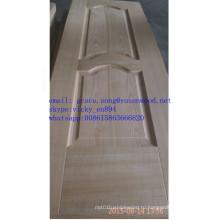 Производитель Китай ХДФ деревянные кожи двери отлитая в форму кожа двери