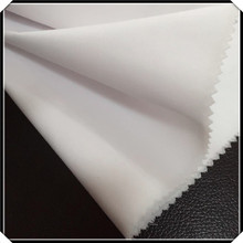 Murah CVC Light White Woven Fabric